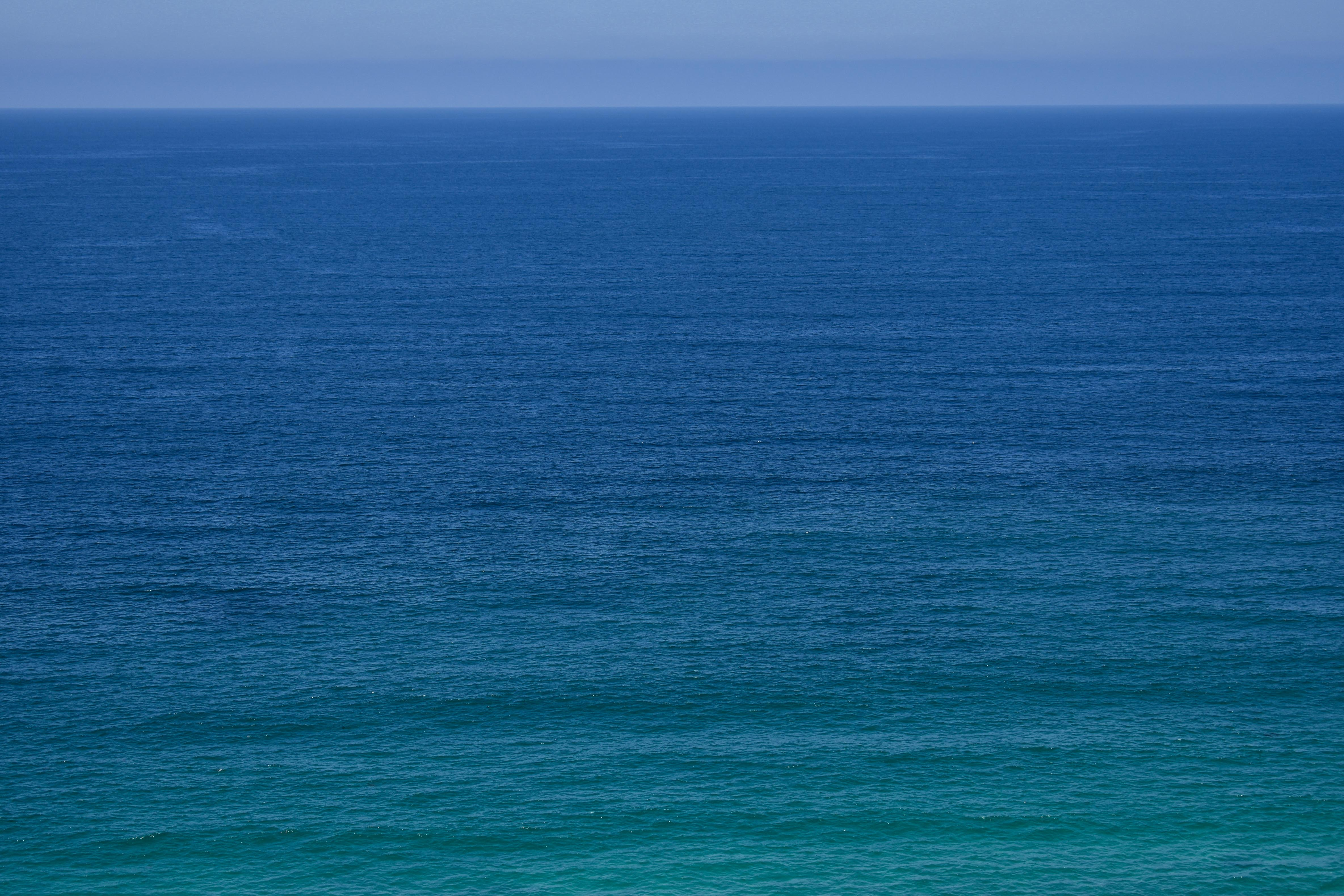 the Pacific Ocean on a sunny day